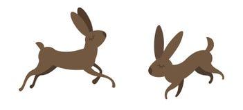 Animal mignon même dessiné dans le style plat illustration stock