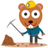 Animal miner Stock Photo
