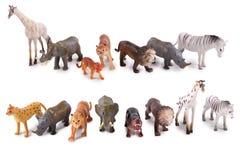 Animal model toys Royalty Free Stock Photos