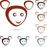 Animal, mouse, face, illustration Royalty Free Stock Images