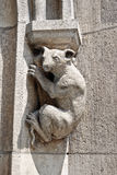 Animal on the New Town Hall in Munich Royalty Free Stock Images