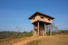 Animal observe tower Stock Photos