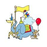 Animal Parade Stock Image