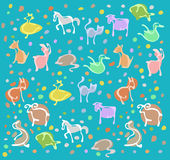 Animal Pattern Stock Image