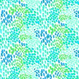 Animal pattern inspired by tropical fish skin Stock Photography