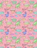 Animal pattern & x28;pink& x29; stock photos