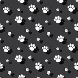 Animal Paw Print Wild Nature Seamless Background. Animal Paw Print Pattern Seamless Wild Nature Background Royalty Free Stock Photography