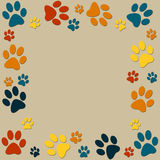 Animal paws Stock Photography