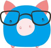 Animal pig Royalty Free Stock Image