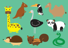 Animal-planet royalty free illustration
