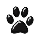 Animal plastic hint. Illustration veterinary, animal hint sign plastic icon Royalty Free Stock Images