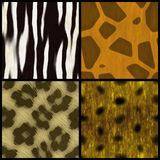 Animal Print Collection stock illustration