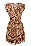 Animal print dress Stock Images