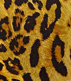 Animal print on fabric. Royalty Free Stock Images