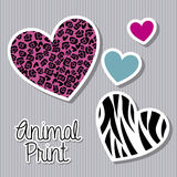 Animal print Stock Photo