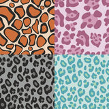 Animal print pattern. Vector animal print pattern background Royalty Free Stock Photography