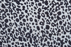 Animal print sweater detail Stock Photos