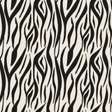 Animal print, zebra texture background black and white colors. Eps10 vector illustration