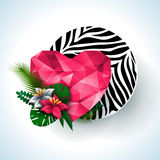 Animal print, zebra texture. Stock Images