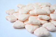 Animal prints pills Stock Photo