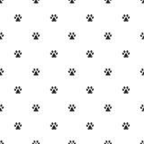 Animal`s footprint pattern Royalty Free Stock Photos