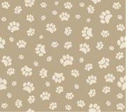 Animal's footprints background royalty free illustration