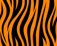 Animal safari abstract skin orange and black seamless pattern repeated. Vector jungle. Animal safari abstract skin yellow orange and black seamless pattern Stock Photography