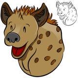 Animal salvaje del Hyena Foto de archivo