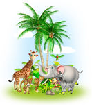 Animal sauvage Image libre de droits