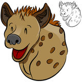 Animal sauvage d'hyène Photo stock