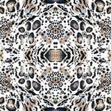 Animal seamless kaleidoscope  print Stock Images