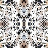 Animal seamless kaleidoscope  print Royalty Free Stock Photos