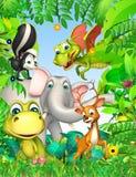 Animal selvagem ilustração do vetor
