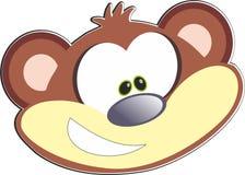 Animal selvagem marrom de África do macaco fotos de stock
