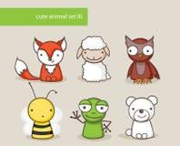 Animal set Royalty Free Stock Image