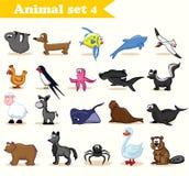 Animal set Royalty Free Stock Images