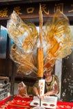 Animal shaped caramel sticks Royalty Free Stock Photography