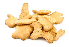Animal shaped cookies Stock Photography