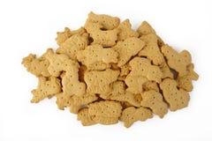 Animal shaped cracker on white background Stock Photography
