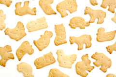 Animal shaped crackers Stock Image