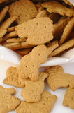 Animal shaped salty cracker Stock Images