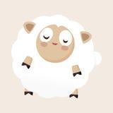 Animal sheep flat icon elements, eps10. Vector illustration file Royalty Free Stock Images