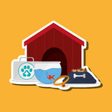 Animal shop design. Animal shop concept with icon design, vector illustration 10 eps graphic Royalty Free Stock Photography
