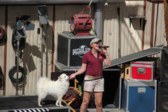 Animal Show at Universal Studios Hollywood Stock Photo