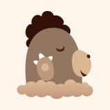 Animal shrewmouse flat icon elements, eps10. Vector illustration file Stock Photos