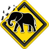 Animal Sign. Three dimension style and high quality image Royalty Free Stock Photography