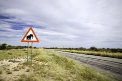 Animal signpost Stock Images