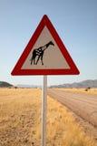 Animal signpost Stock Photography