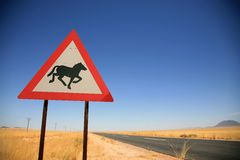 Animal signpost Royalty Free Stock Photo