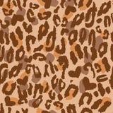 Animal Skin Pattern. Seamless Illustration of an Animal Skin Pattern with little hearts stock illustration